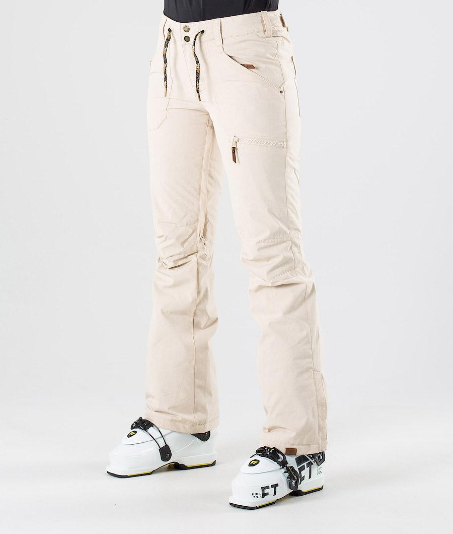 Roxy Nadia Ski Pants Oyster Gray