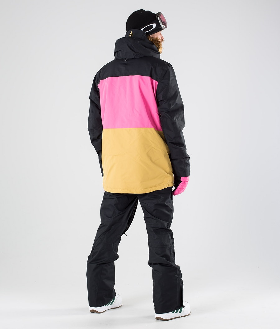 WearColour Grid Snowboardjacka Black
