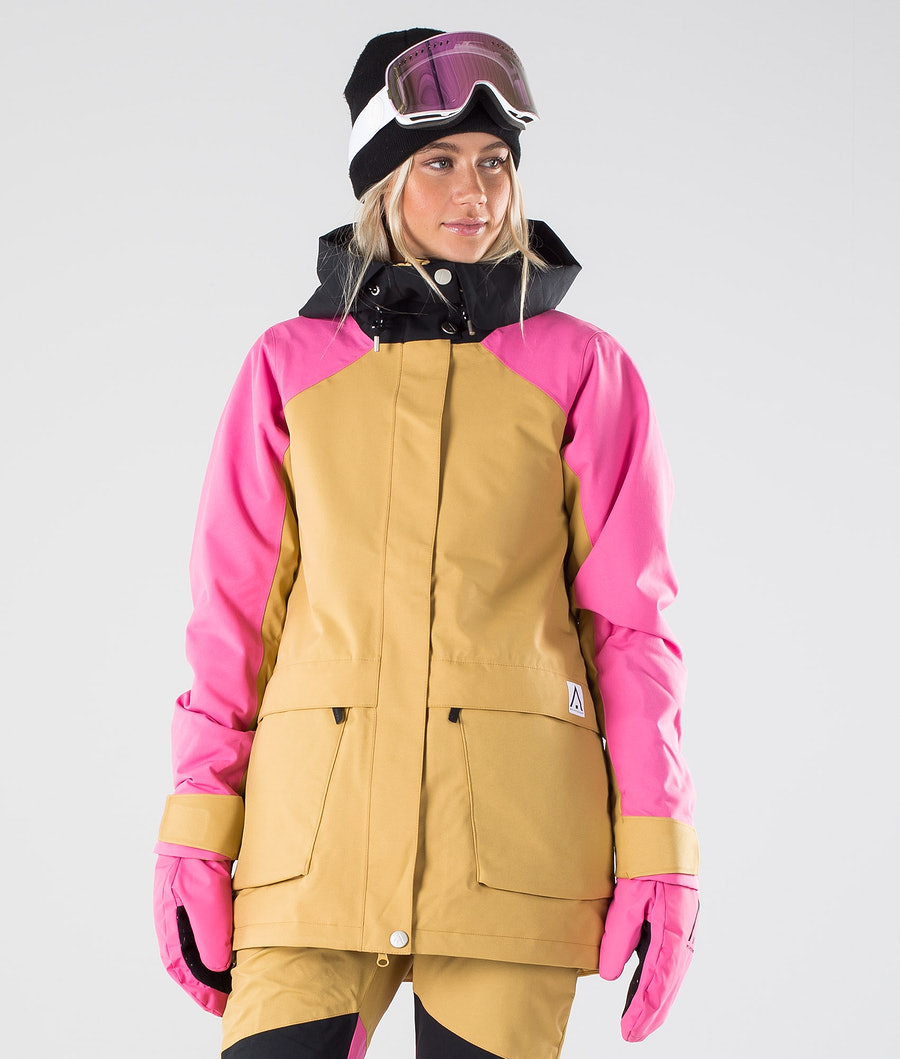 WearColour Blaze Ski Jacket Sand
