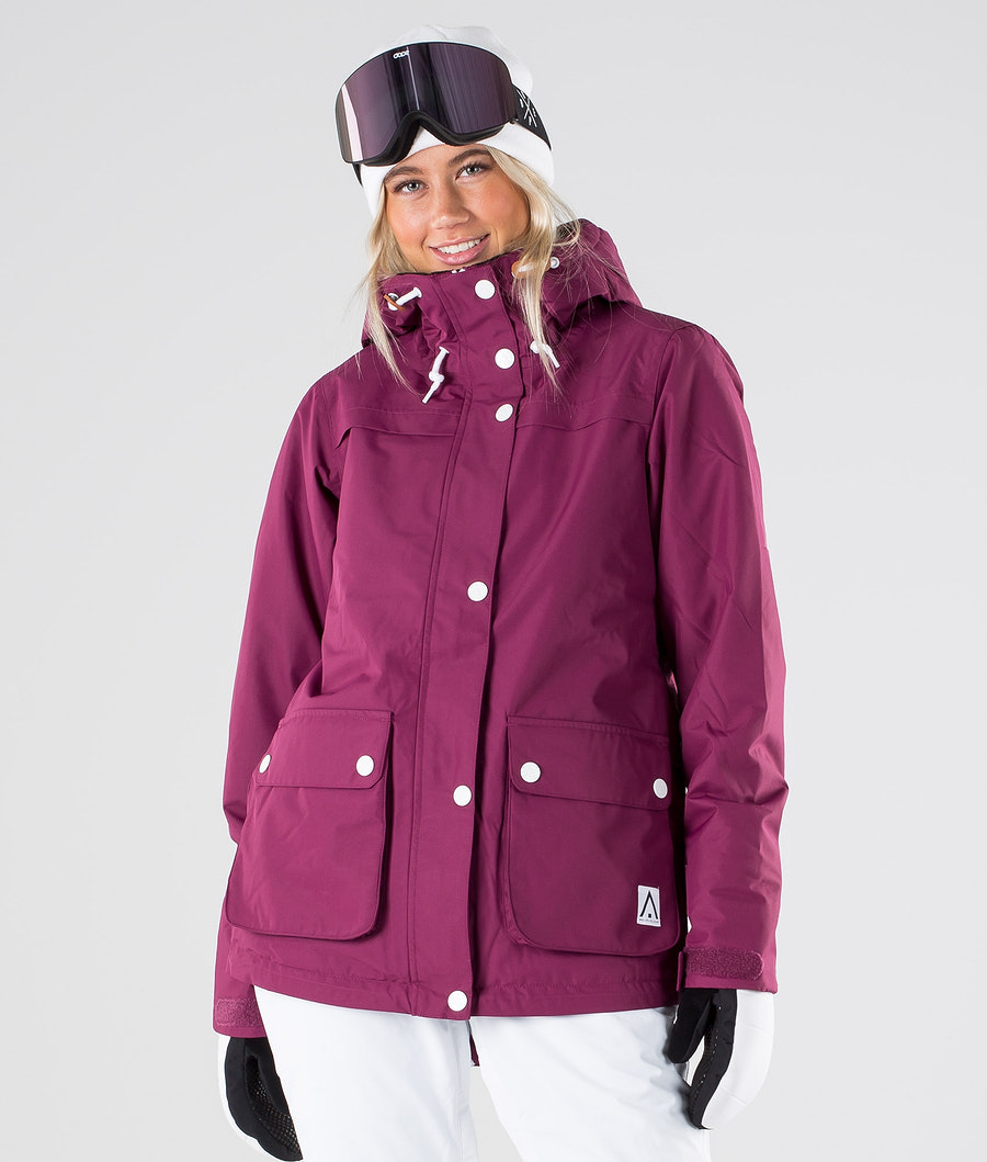 WearColour Ida Veste de Ski Tibetan Red