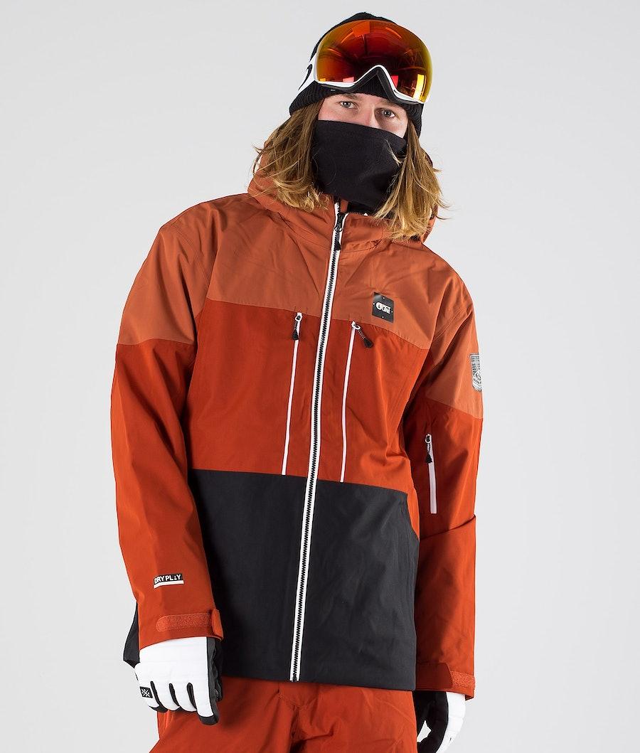 Picture Object Ski Jacket Brick