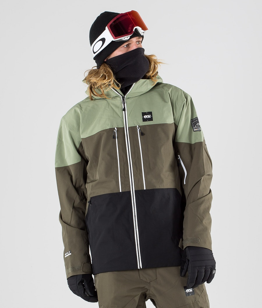 Picture Object Ski Jacket Dark Army Green
