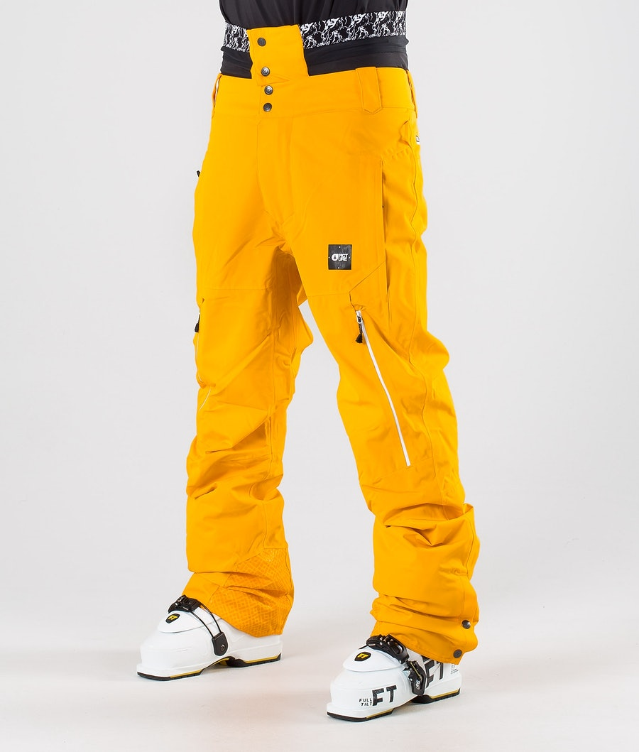 Picture Object Ski Pants Yellow