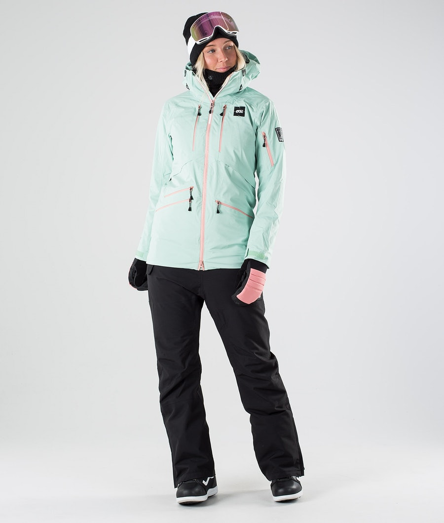 Picture Haakon Women's Snowboard Jacket Almond Green