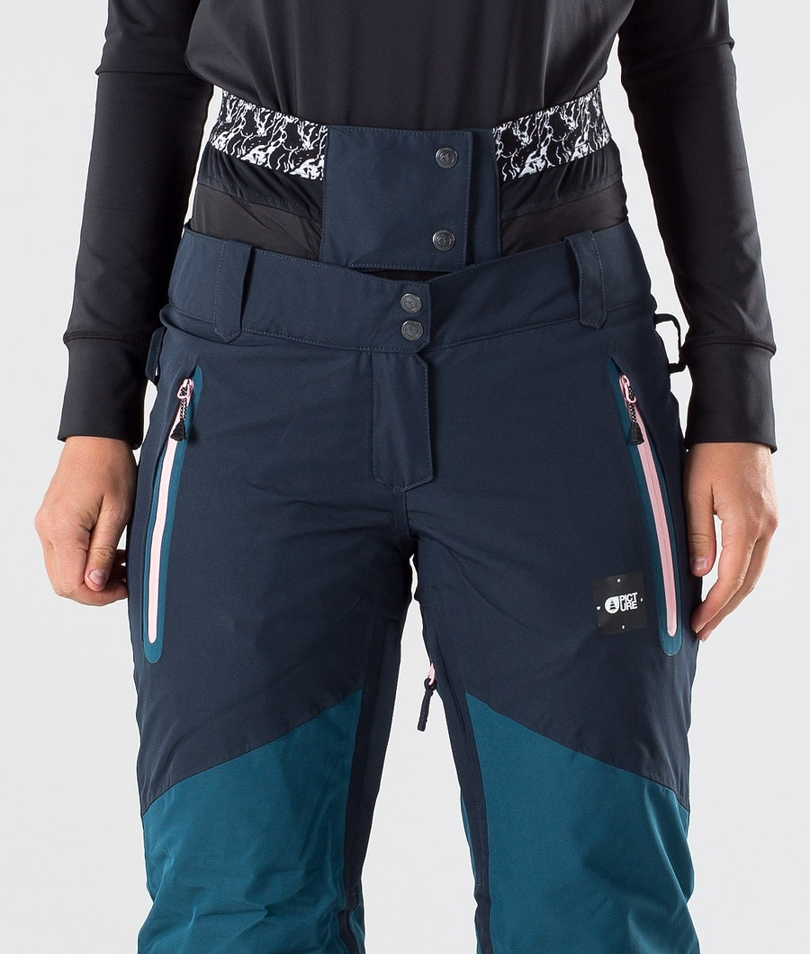 Picture Seen Snowboardbyxa Dam Petrol Blue