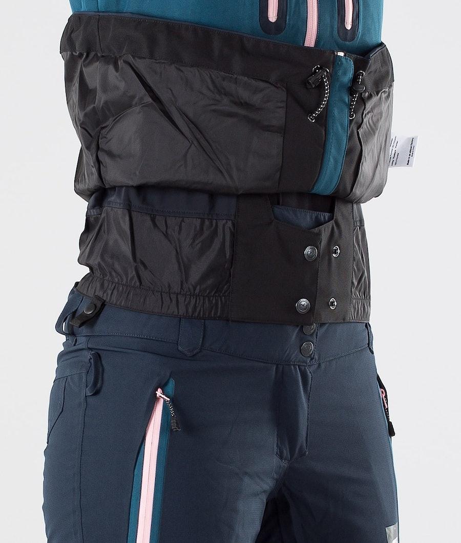 Picture Seen Snowboard jas Dames Dark Blue
