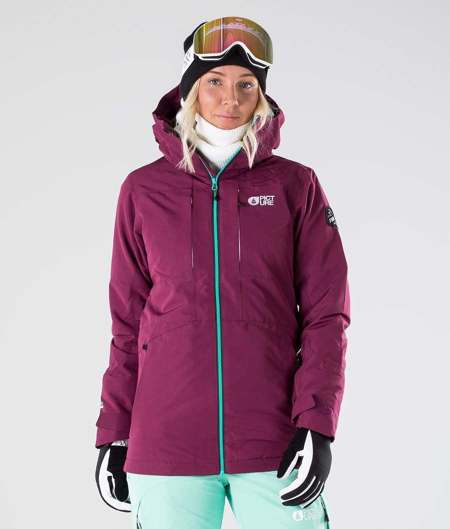 Picture Apply Snowboard Jacket Raspberry