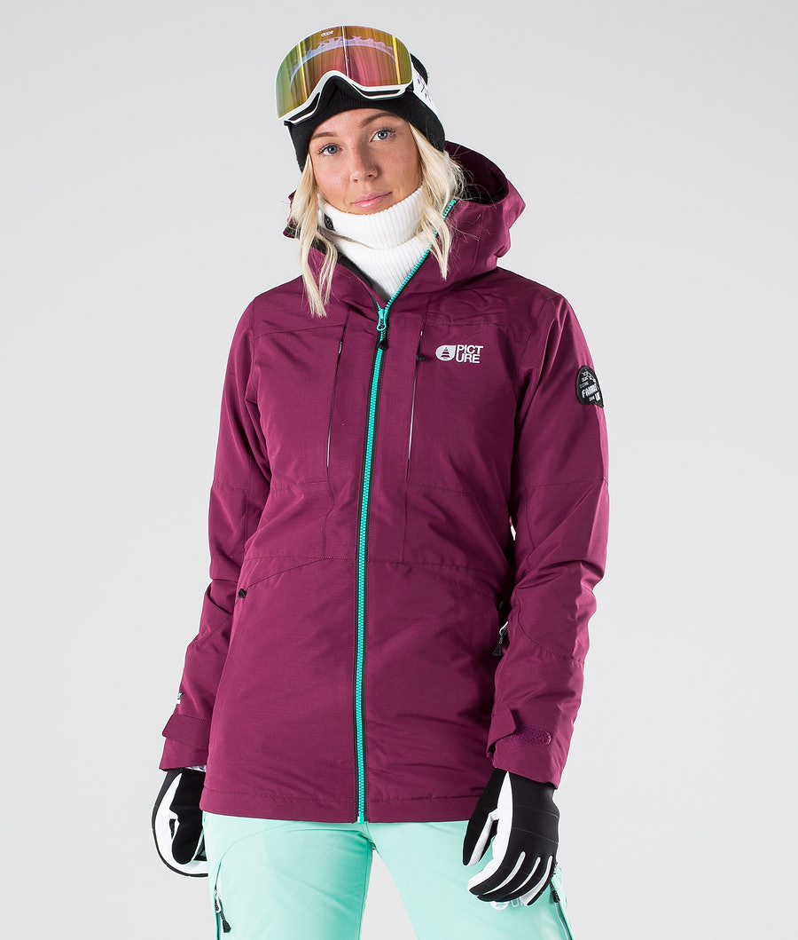 Picture Apply Veste de Ski Raspberry