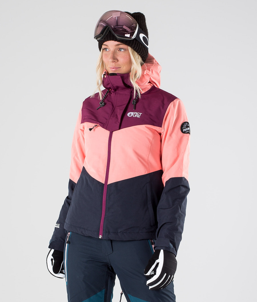 Picture Week End Veste de Ski Coral