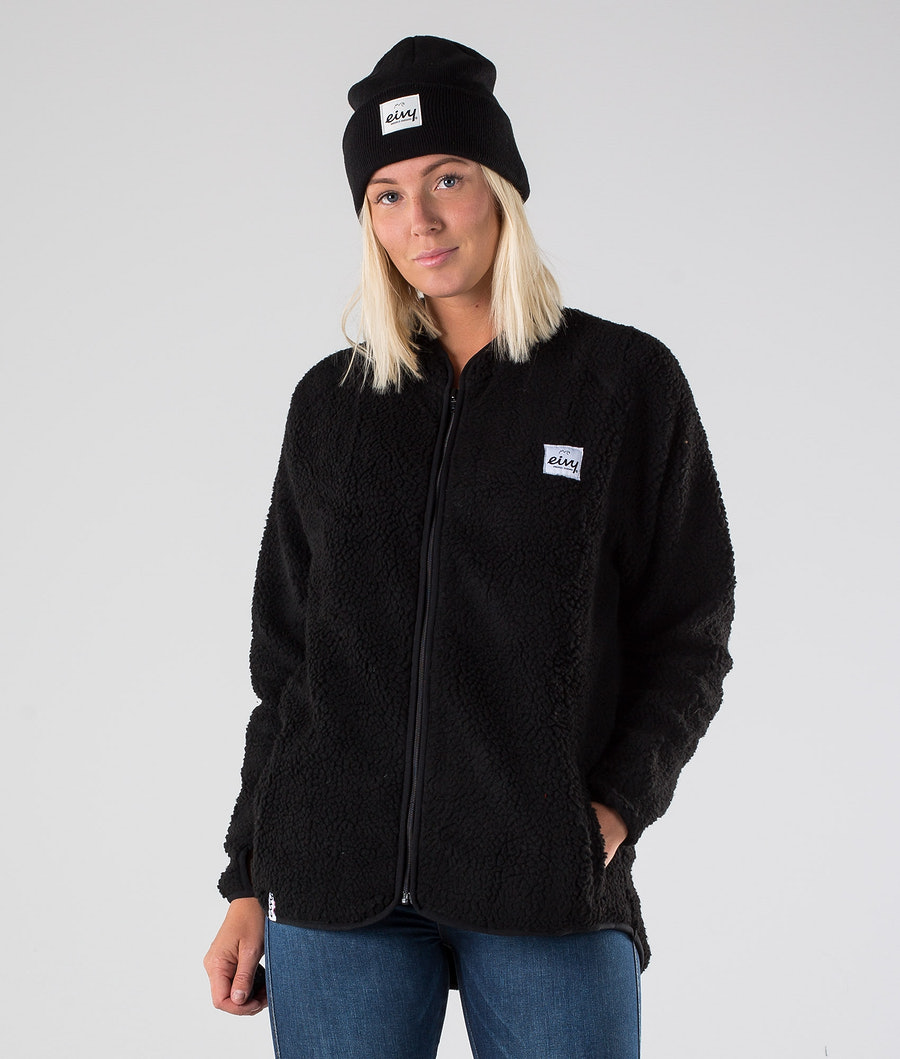 Eivy Redwood Sherpa Jacket Takki Black