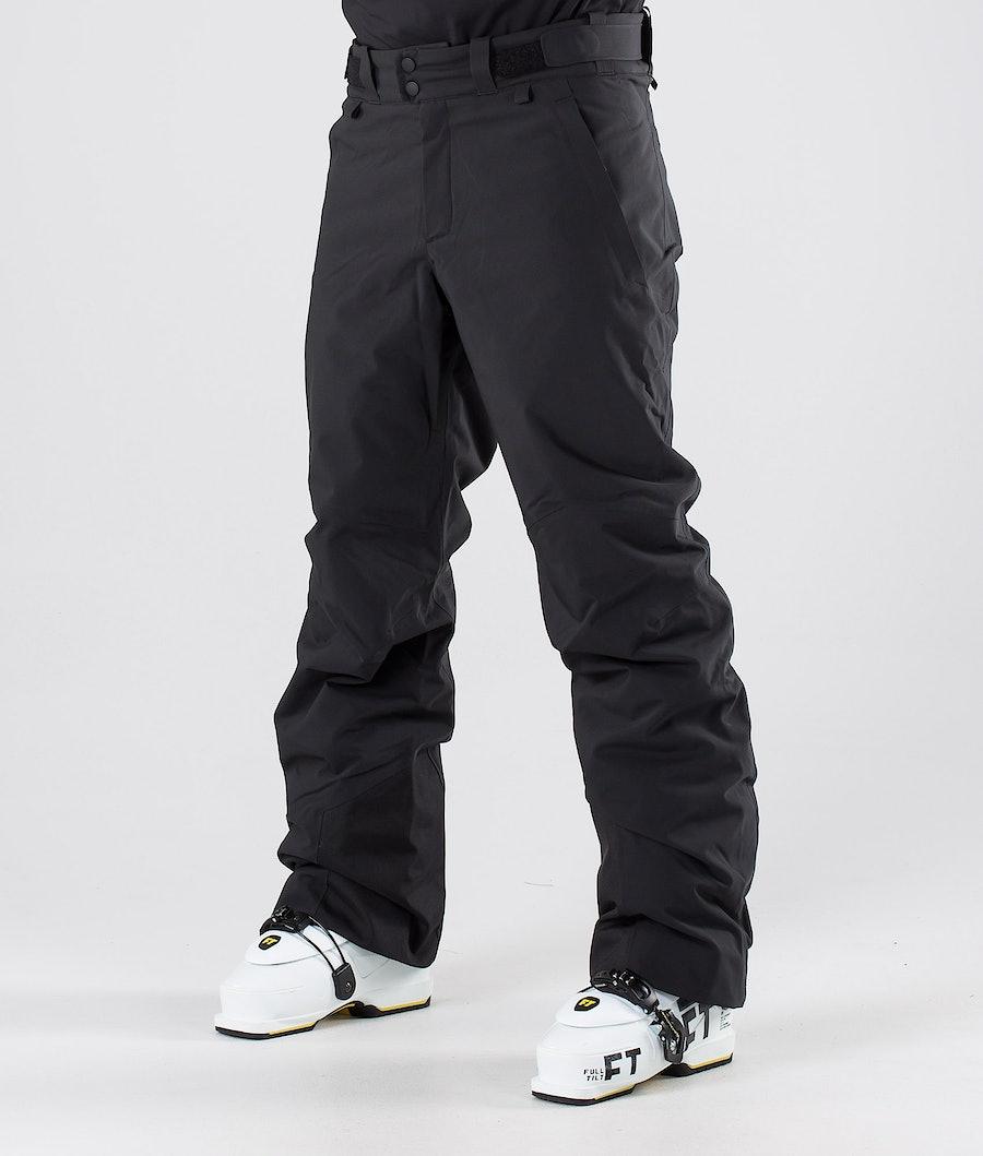 Peak Performance Maroon Ski Pants Black