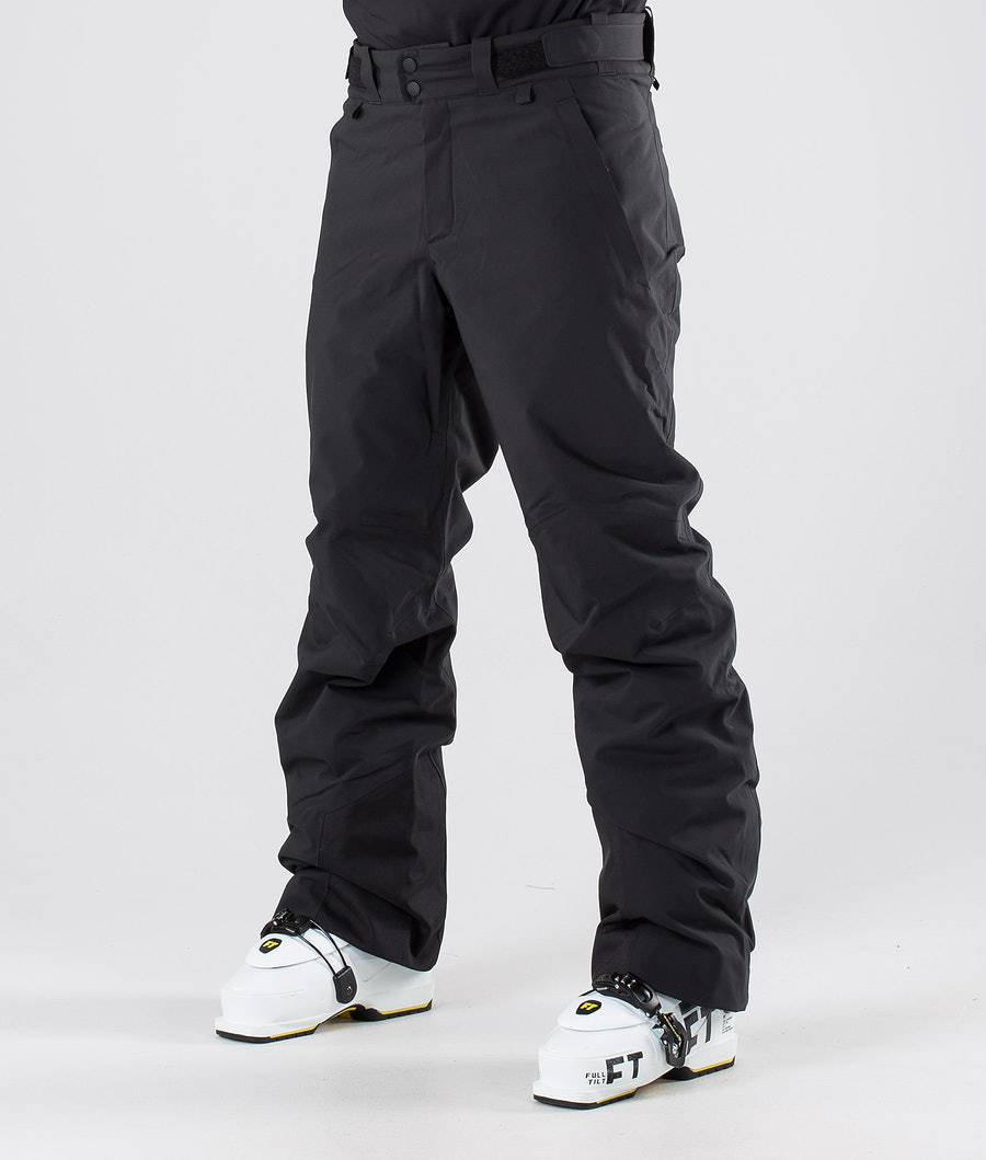 Peak Performance Maroon Ski Pants Black