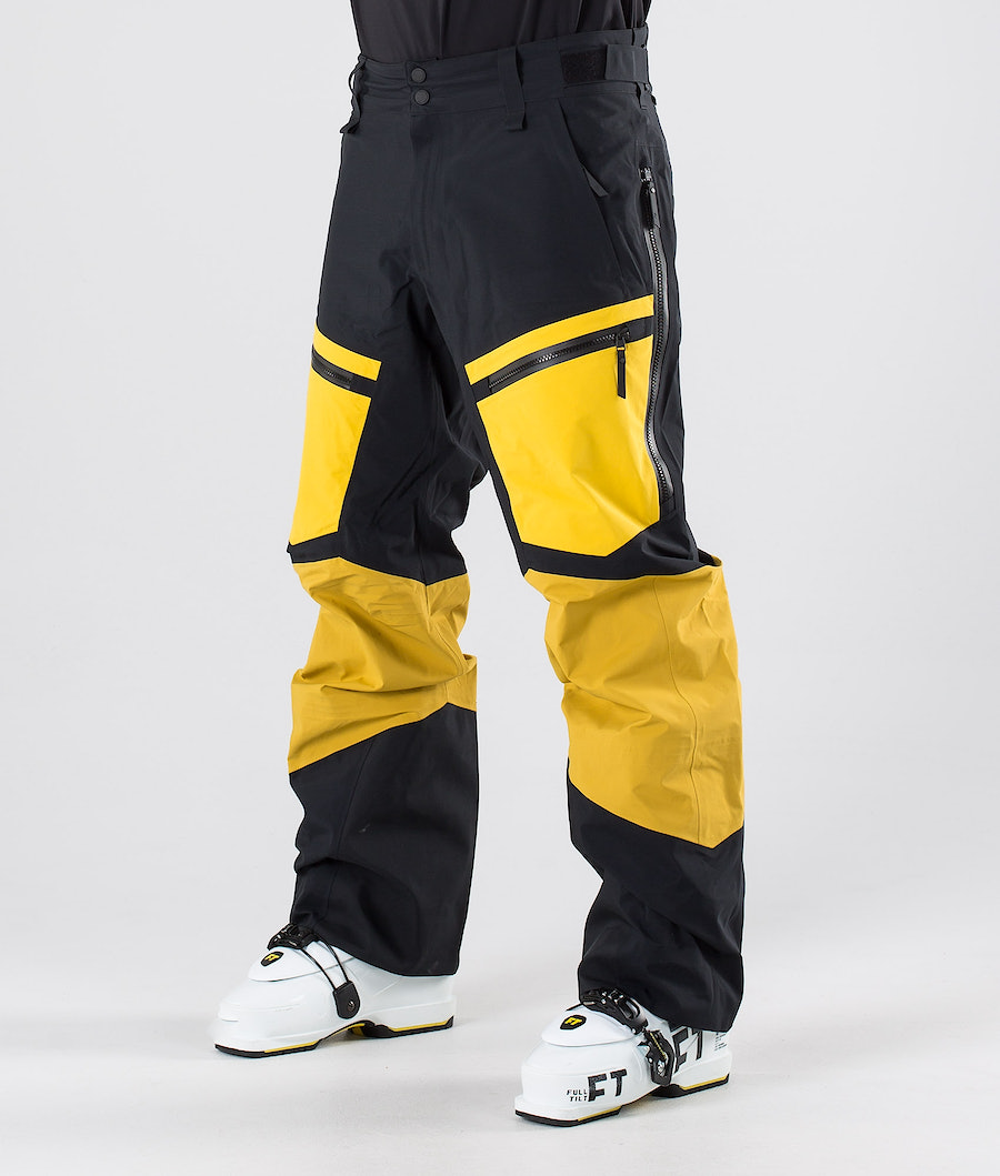 Peak Performance Gravity Ski Pants Yellow Flow