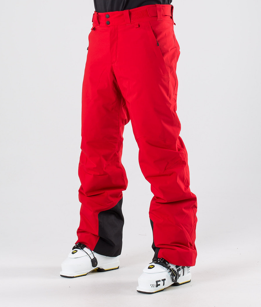 Peak Performance Maroon Ski Pants Dark Chilli