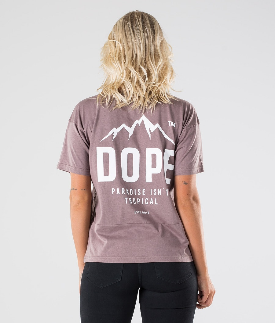 Dope Grand Paradise II T-shirt Dame Faded Purple
