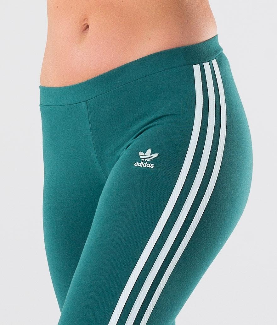 Adidas Originals 3-Stripes Tight Leggings Femme Noble Green