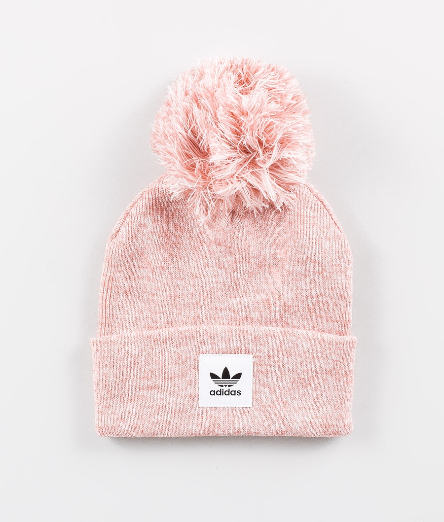 Adidas Originals Melange BoBBle Bonnet Pink/White .