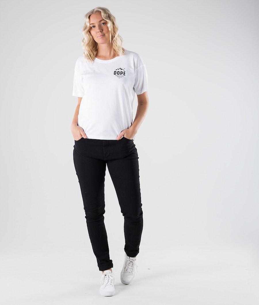 Dope Grand Paradise II T-shirt Dame White