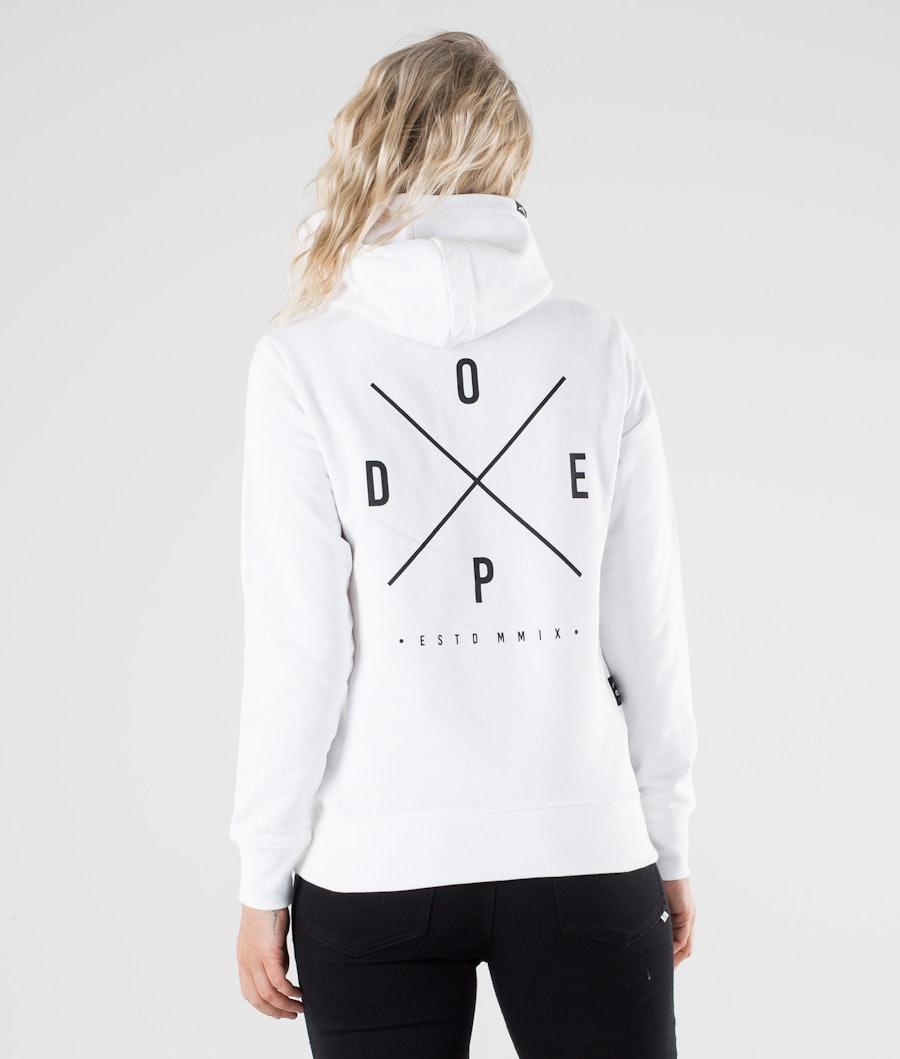 Dope Copain 2X-up Hoodie White