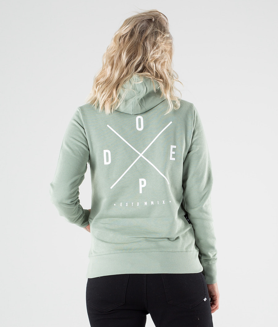 Dope Copain 2X-up Capuche Faded Green