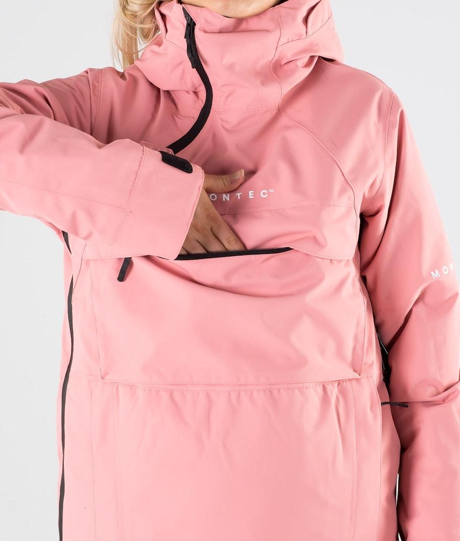 Montec Dune W Veste de Ski Femme Pink