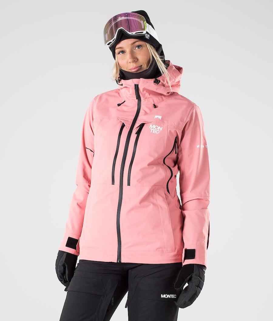 Moss Snowboard Jacket Women Pink