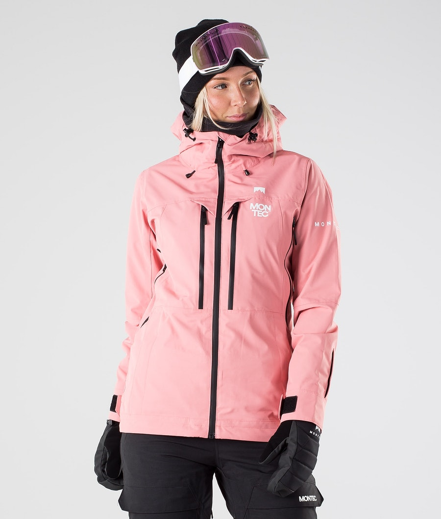 Montec Moss Skijacke Pink