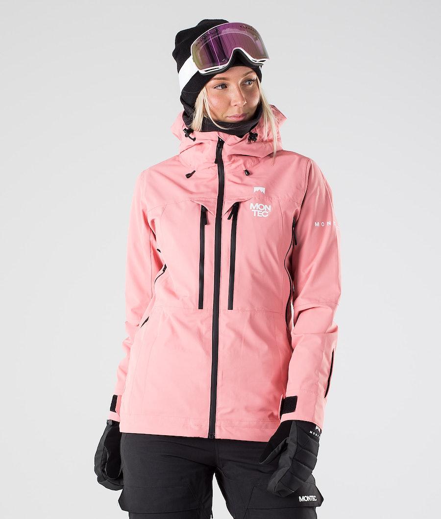 Montec Moss Laskettelutakki Pink