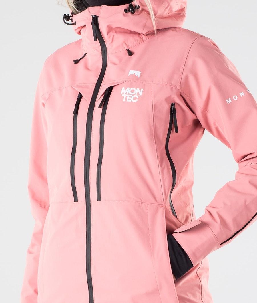 Montec Moss Skijakke Dame Pink