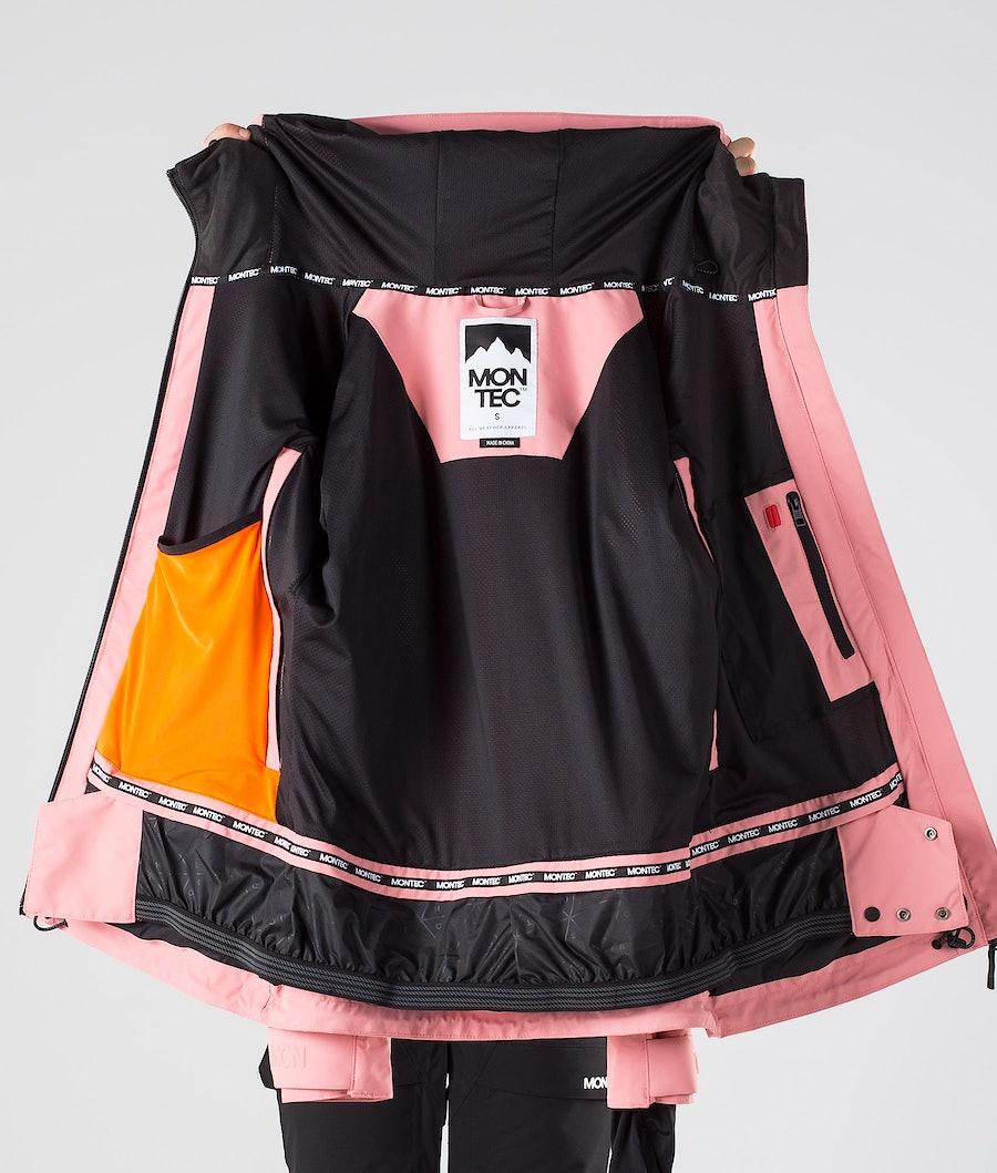 Montec Moss Veste de Snowboard Femme Pink