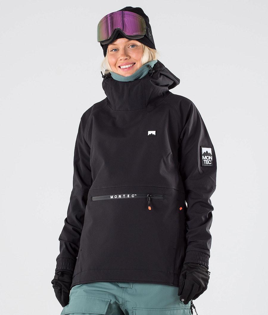 Montec Tempest W Snowboardjakke Black