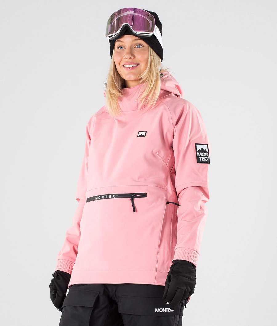 Montec Tempest W Snowboardjakke Pink
