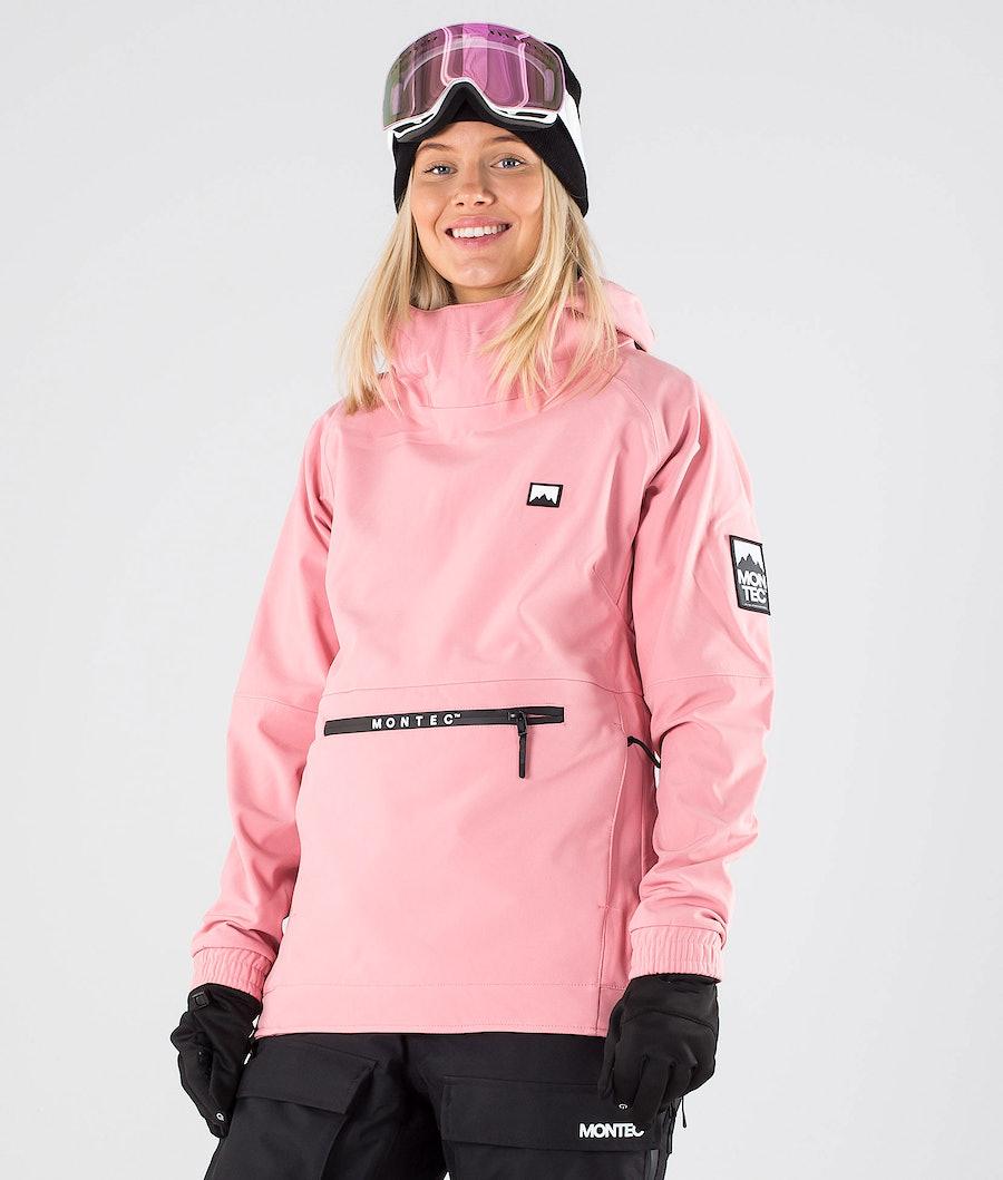 Montec Tempest W Ski Jacket Pink