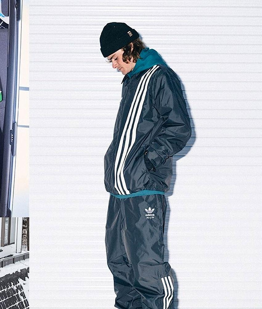 Adidas Snowboarding Civilian Snowboardjacke Carbon/Active Blue/Cream White