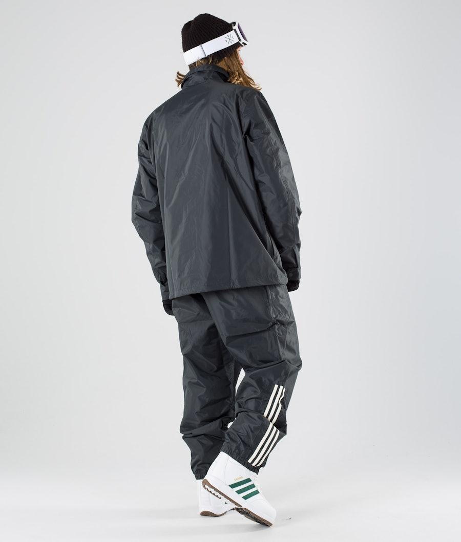 Adidas Snowboarding Civilian Snowboardjakke Carbon/Active Blue/Cream White