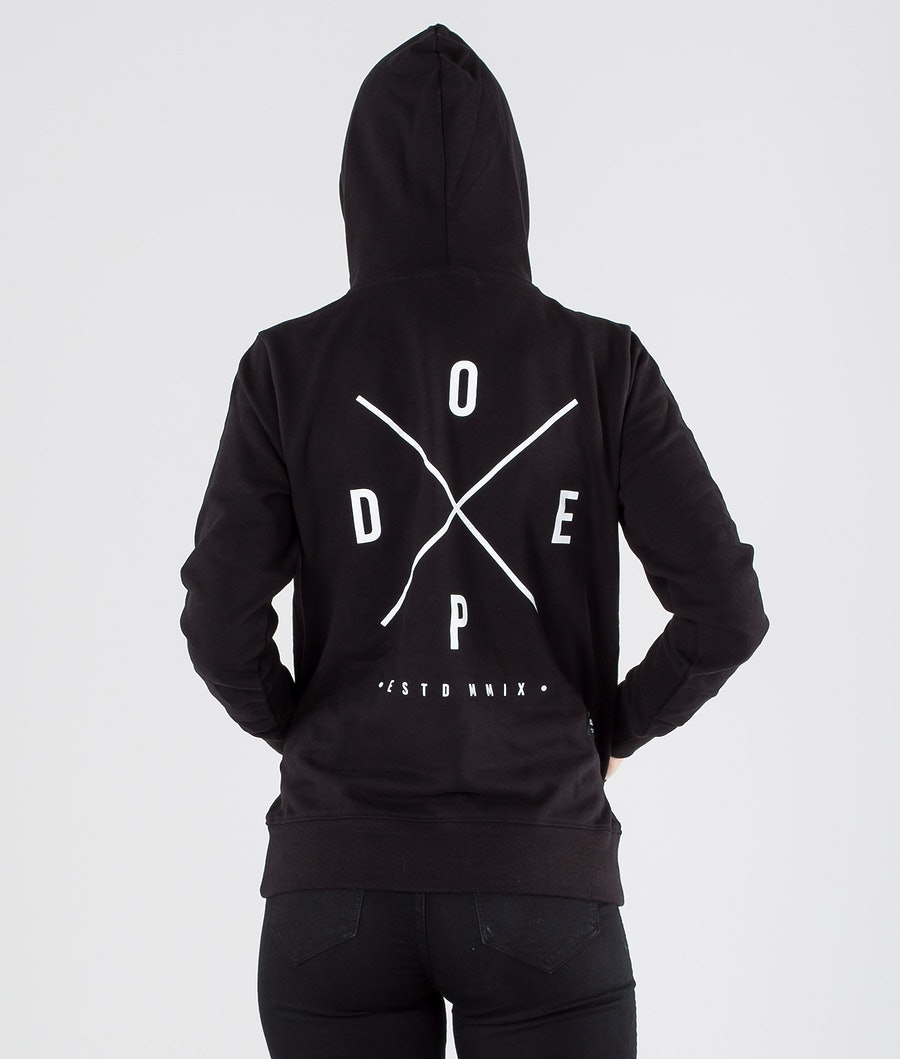 Dope Copain 2X-up Hoodie Damen Black