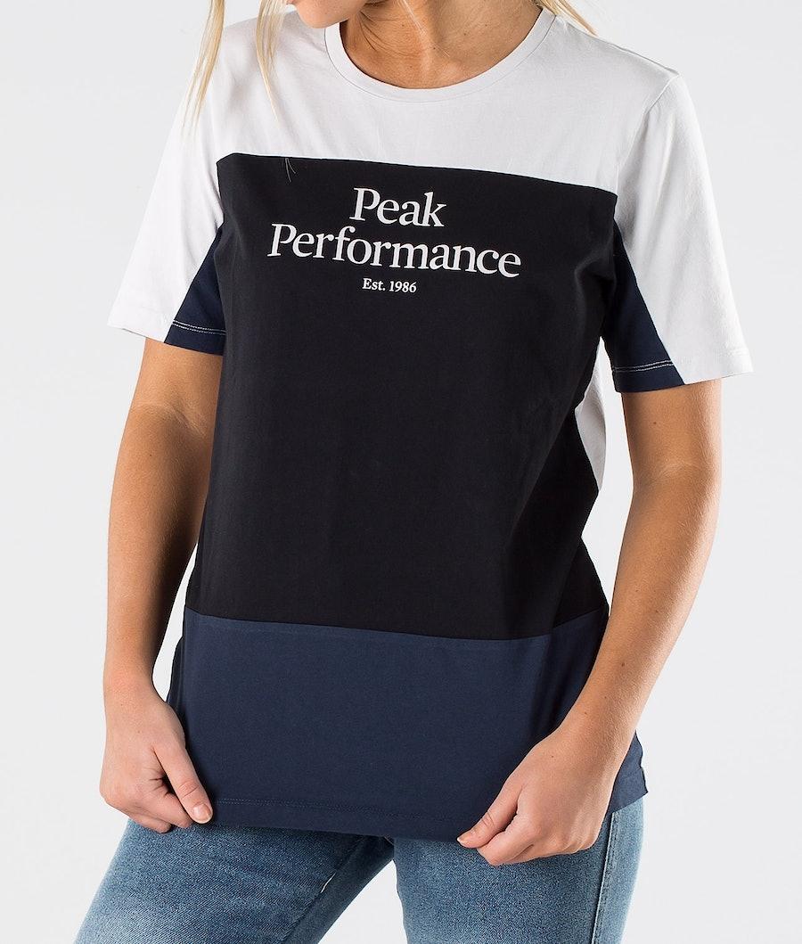 Peak Performance Original Blocked Tee T-shirt Dam Antarctica