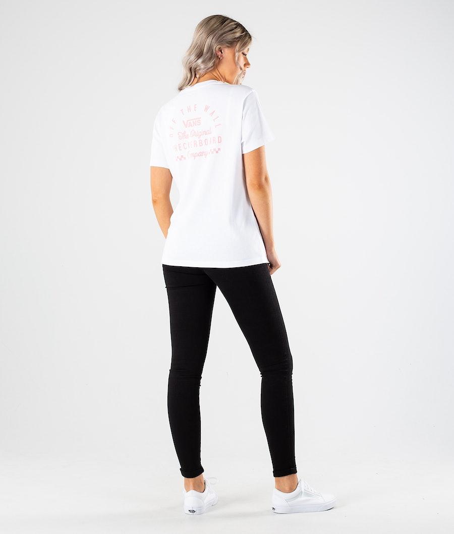 Vans In Deep BF T-shirt Dame White