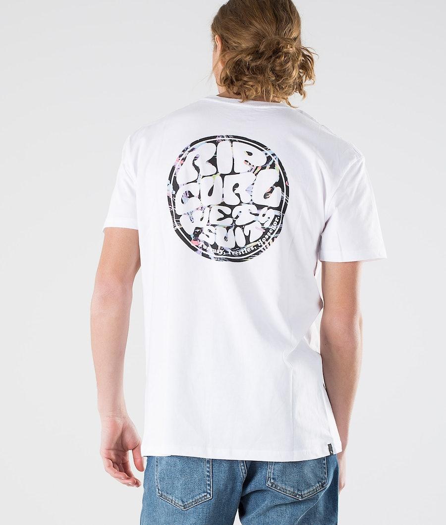 Rip Curl Passage Tee T-shirt Optical White