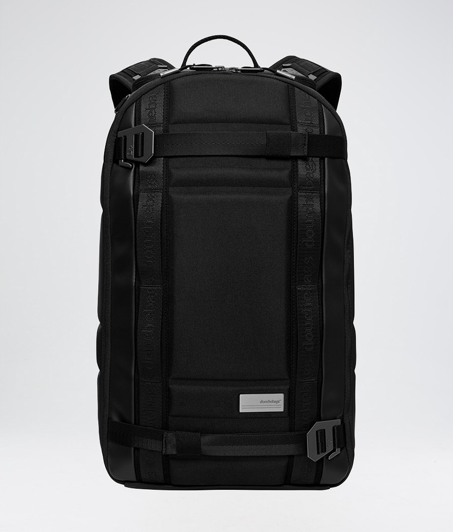 Douchebags The Backpack Snow Bag Black Leather