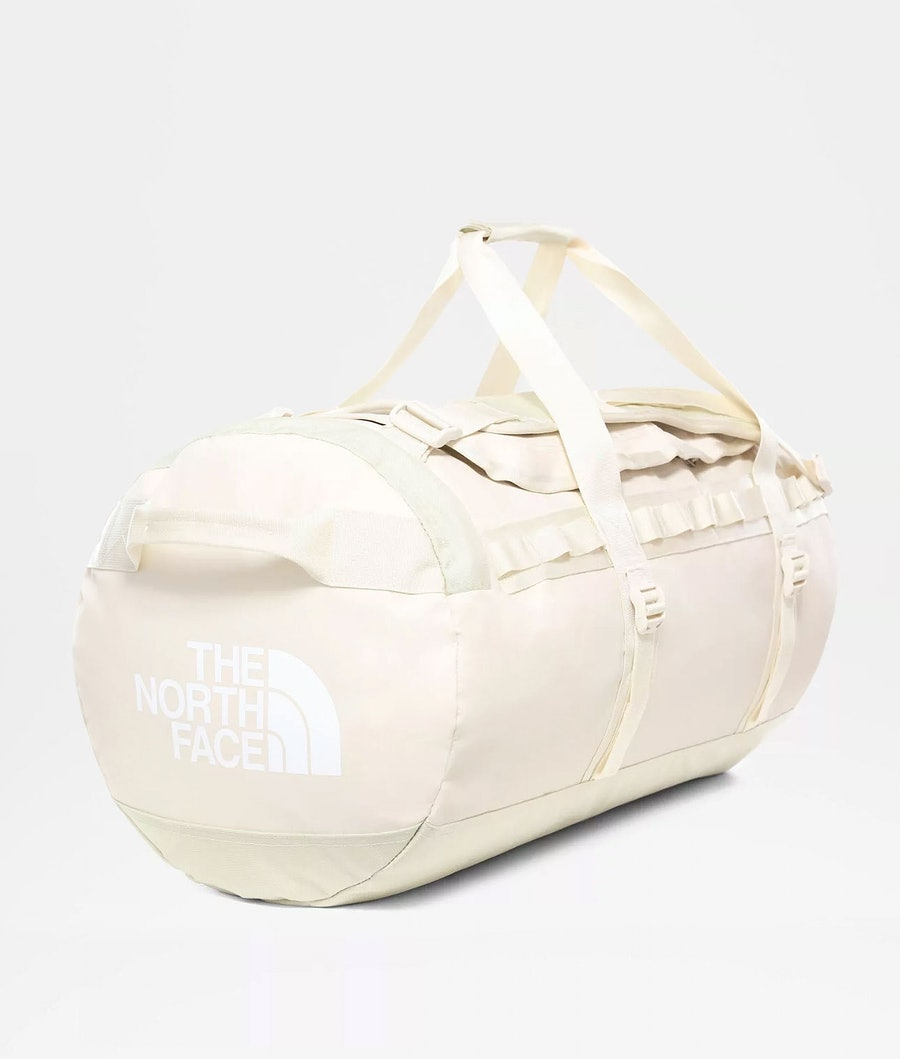 The North Face M - Base Camp Duffel Laukku Vintage White/Tnf White