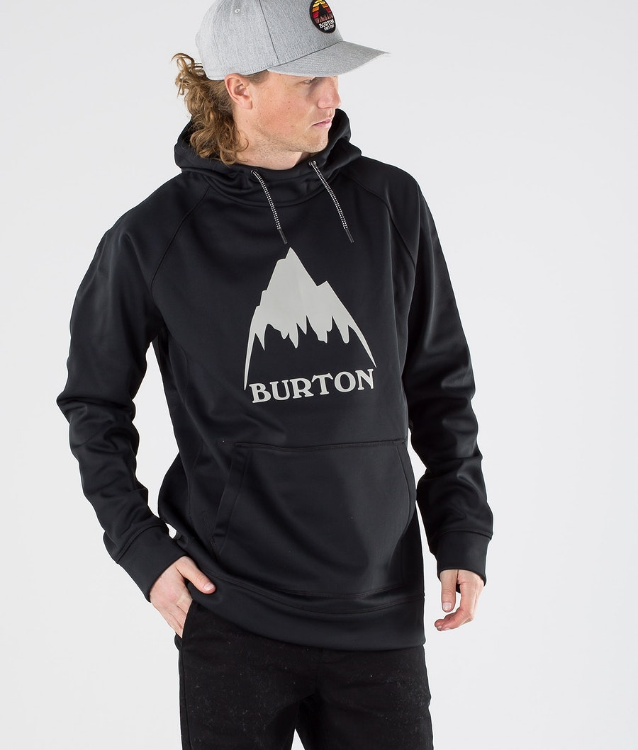 Burton Crown Bonded Hoodie True Black