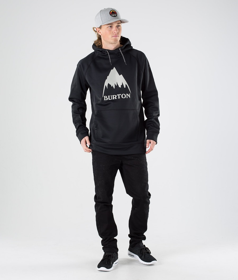 Burton Crown Bonded Hood True Black