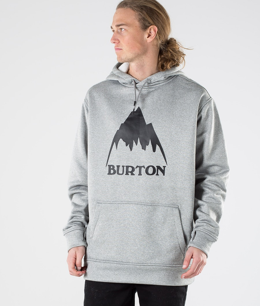 Burton Oak Sweatshirt Mountain Gray Heather