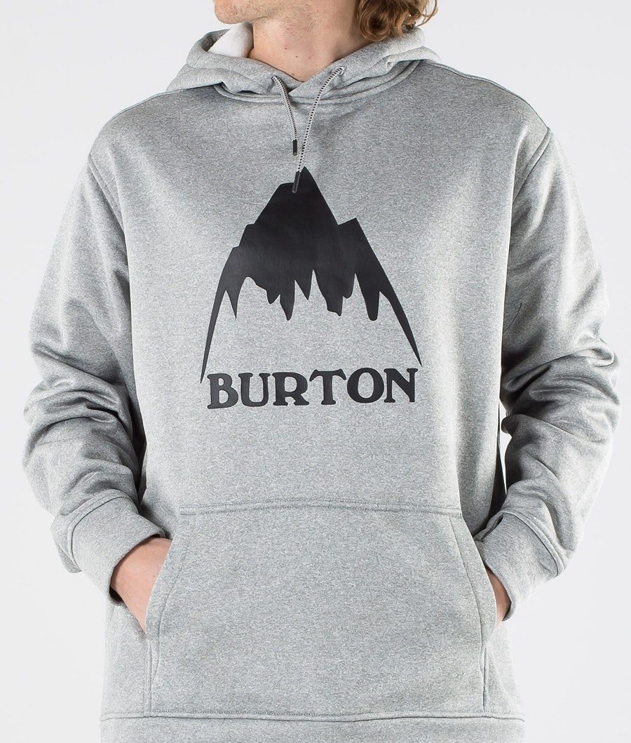 Burton Oak Hood Mountain Gray Heather