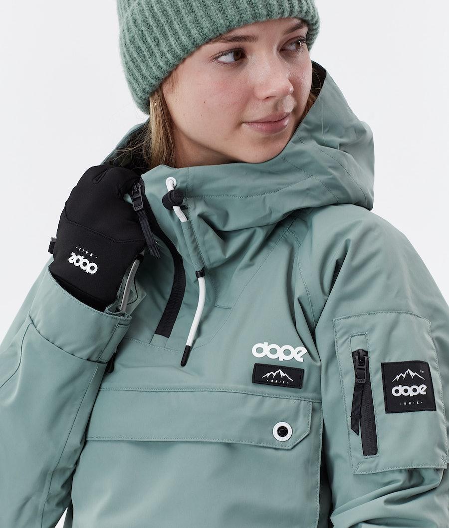 Dope Annok W Women's Winter Jacket Faded Green