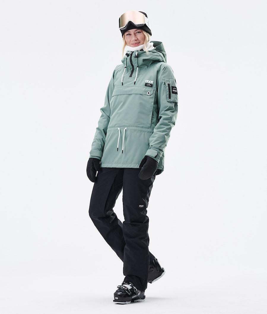 Dope Annok W Veste de Ski Femme Faded Green