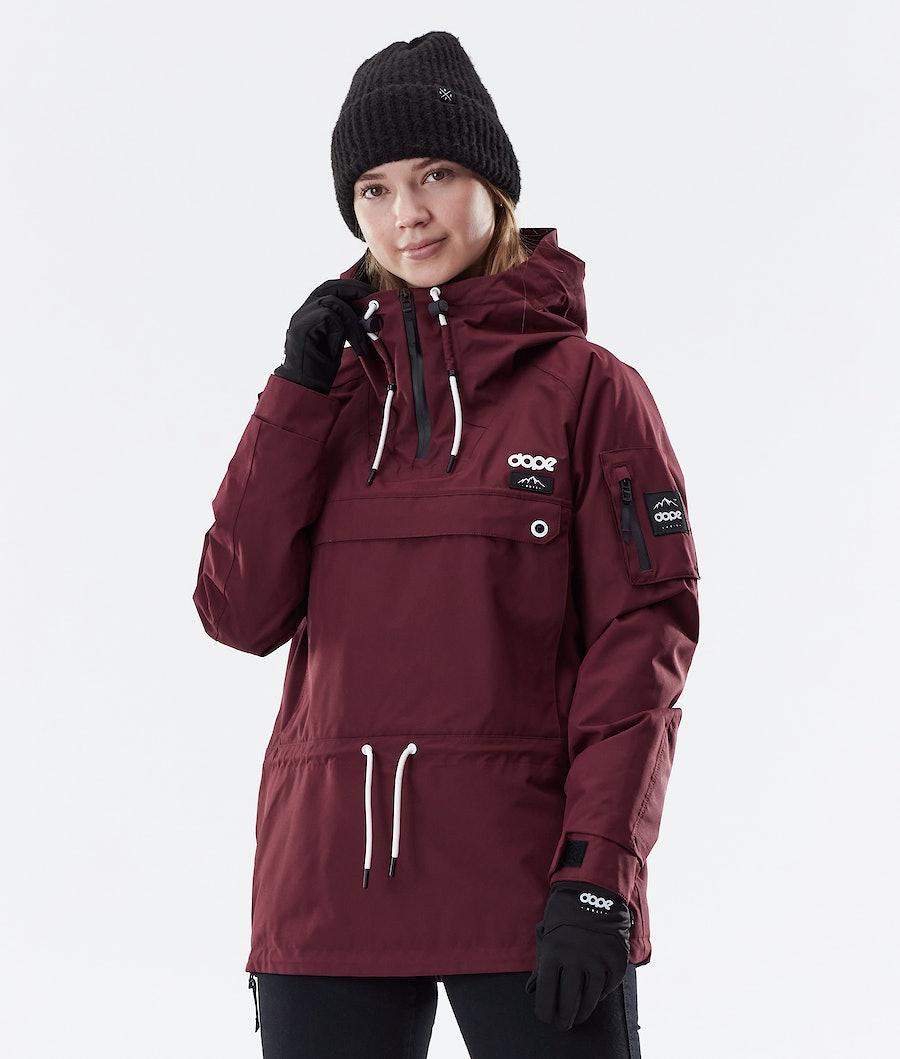 Dope Annok W Winter Jacket Burgundy