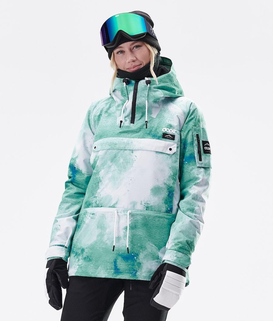 Dope Annok W Veste de Ski Femme Water White