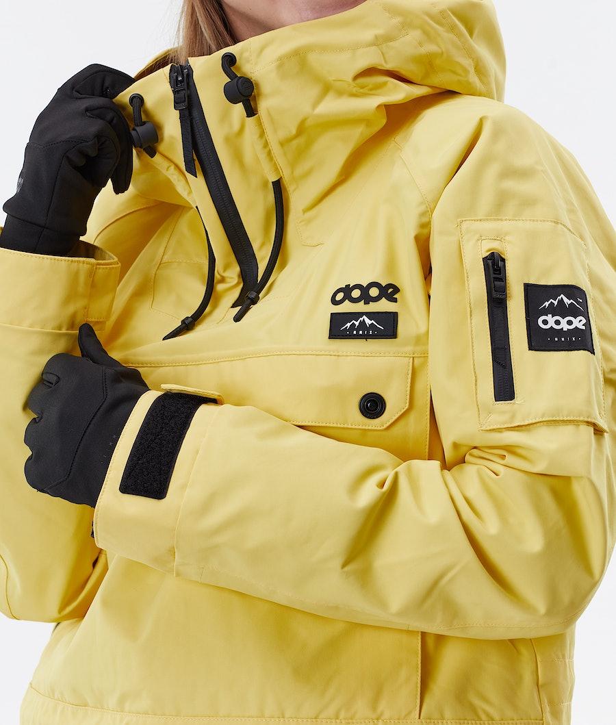 Dope Annok W Women's Winter Jacket Faded Yellow
